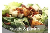 salads & paninis